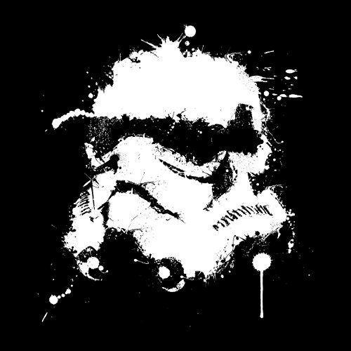 Star Wars Stormtrooper Splatted Helmet Men's Vest Black