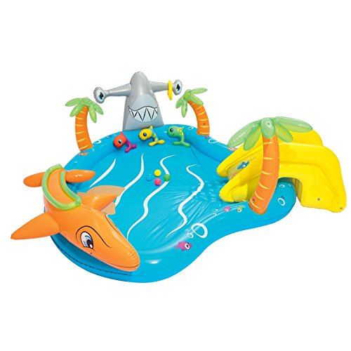 Bestway Inflatable Kids Water Play Centre Sea Life Paddling Pool