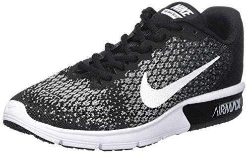 Esecuzione Scarpe Nike In Grigio 2 Lupo Max nero Wmn Donna Scuro Grigio Sequent Bianco Air Nere 0w8ggA