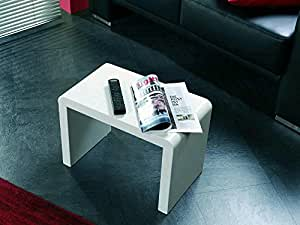 Table basse Swithome Diane PM laqué blanc