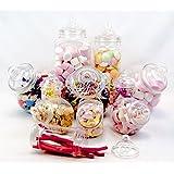 Plastic Jar Party Pack-11 Assorted Jars