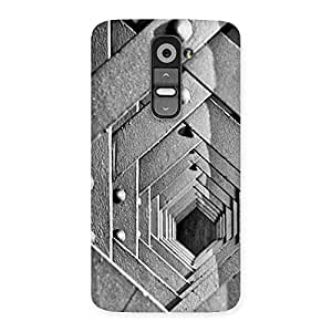 Special Cage Hexa Back Case Cover for LG G2