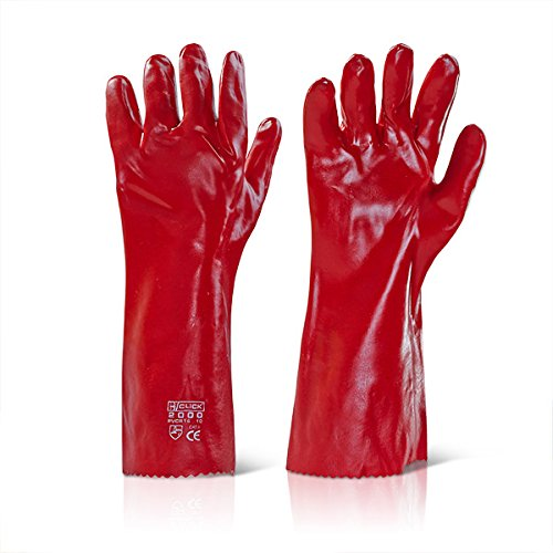 PVC Gant rouge – 40,6 cm