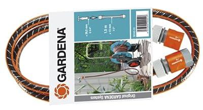 Gardena Anschlussgarnitur-Schlauch und Adapter