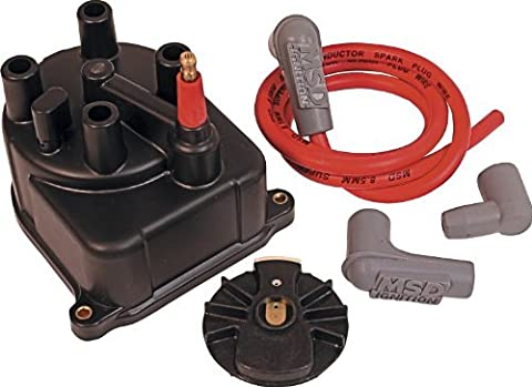 MSD 82923 Modified Distributor Cap and Rotor Kit by