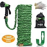 HulGO 30m Expandable Garden Water Hose Set, Expanding 30 to 100ft Long, accessories