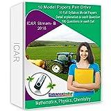 #10: EntranceIndia ICAR Stream B 2018 Model Papers (10 Sets) (Pen Drive)