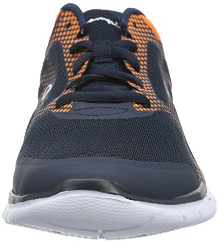 Champion Herren Low Cut Shoe Alpha Laufschuhe Blau (Navy Blazer New Navy /New York Knicks Orange RGE 2257)
