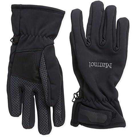 Marmot, Softshell Uomo Guanti Glide, Nero (black), XL