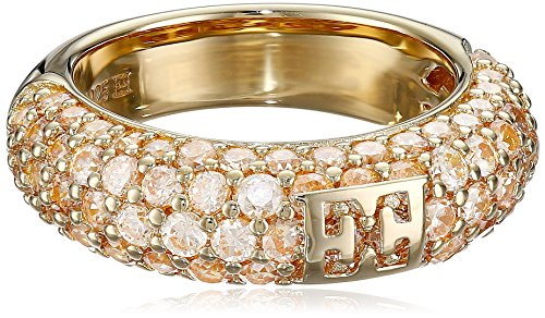 escada-gold-plated-over-sterling-silver-champagne-cubic-zirconia-ring-size-7