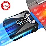 KLIMTM Cool Refroidisseur - PC Ventilo Portable Gamer - Ventilateur Haute Performance pour Refroidissement Rapide - Extracteur d'air Chaud USB - Nouvelle Version 2020 - Bleu