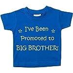 I''ve Been Promoted a grande Fratello Blu Maglietta Bambini Piccoli disponibile nelle taglie 0-6 Mesi a 14-15 anni Nuovo Da Bambino fratello Regalo - Blu, 9-11 Years - spediti entro 1 giorno lavorativo - disponibile nelle taglie 0-6 Mesi to 5-6 Anni ...