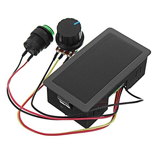 LaDicha Ccm5D Dc 6V-30V 6A 16Khz Dc Motor Speed Controller Led Digital Display 6V 12V 24V 6A 8A Pwm Variabler Drehzahlregler Mit Schale (Kostüm Controller)