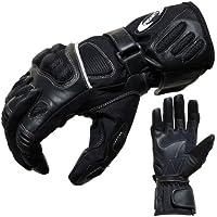 Motorradhandschuhe Sommer Tour PROANTI® Motorrad Handschuhe (Gr. XS - XXL, schwarz)