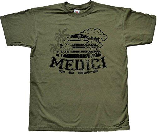 Medici Holiday Grün T Shirt Extra Extra Large