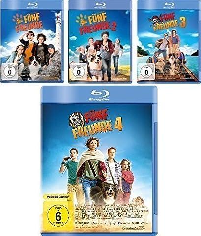 Fünf Freunde - Kinofilme 1-4 [Blu-ray] im Set - Deutsche Originalware [4 Blu-rays]