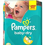 Pampers Baby Dry taille 6 Lot de 132 couches