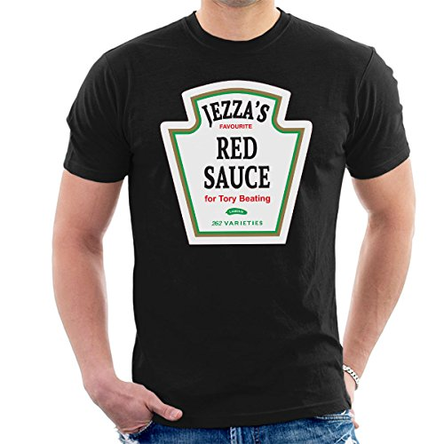 Jeremy Corbyn Jezzas Red Sauce Men's T-Shirt