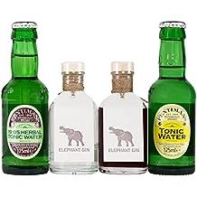 Elephant Gin Fentimans Tonic Box (2 x 0.1 l & 2 x 0.125 l)