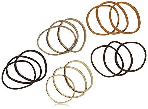 vidal-sassoon-15-piece-thick-flat-no-metal-braided-elastics-animal-print-by-vidal-sassoon