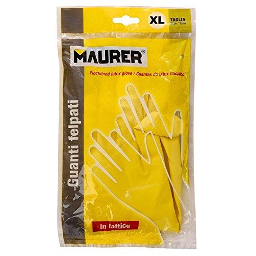 Maurer 15031135 Guante Wolfpack Latex 100% Basic Domestico