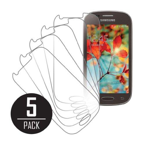 Empire MPERO Sammlung 5 Packung von Klar Displayschutzfolie Film for Samsung Galaxy Light T399 (Samsung Für T399 Cover)