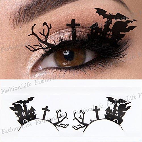 Party Augen Temporäre Tätowierung Make-up Tattoo Spitze Aufkleber -