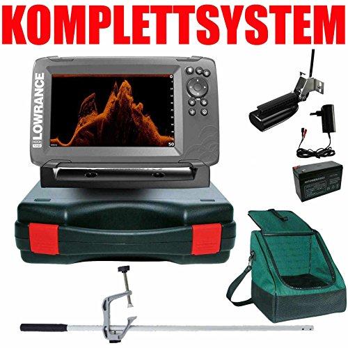 Lowrance Echolot GPS Portabel Master Plus - Hook2 7X SplitShot HDI Chirp GPS