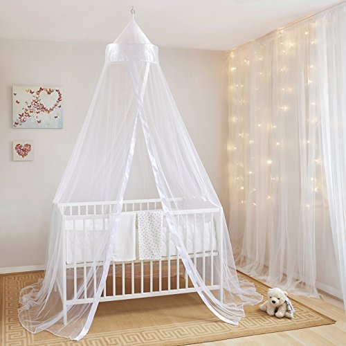 Mosquito Nets 4 U Baby Canopy/Mosquito Net for Cot with Drawstring Bag – Parent 51pUjMNLz0L