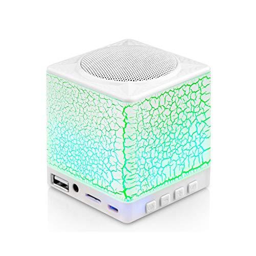 Président Haut-Parleur sans Fil Bluetooth Subwoofer Portable Connexion Ordinateur Téléphone Mobile Mini Haut-Parleur Coloré Lumière Lecteur De Musique en Plein Air Haut Parleur Bluetooth