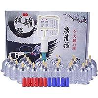 Kays Schröpfen Set 24 Vakuum-Tassen Mit 12 Magnetkopf, Chinesische Schröpfen Therapie-Set preisvergleich bei billige-tabletten.eu