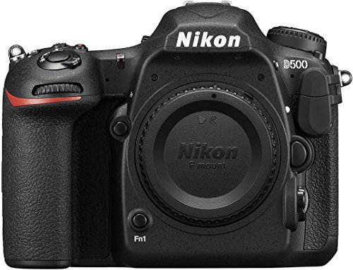 NIKON D 500 Body with 64 GB (Class 10) SD Card