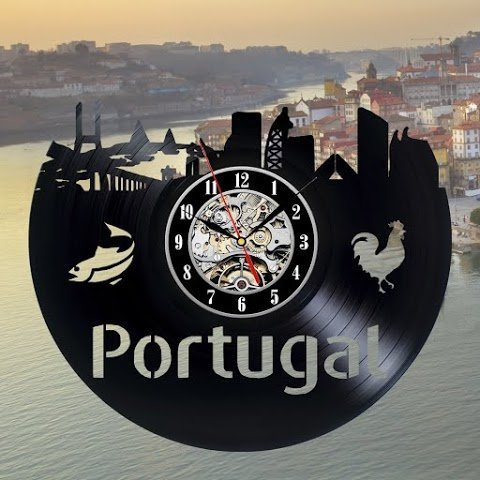 Portugal cadeau vinyle Art Mural Home Décoration Chambre actes millésime moderne