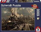 Schmidt Spiele Puzzle 58206 - Lokomotive, 1000 Teile Puzzle