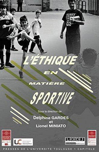 L'éthique en matière sportive par Collectif