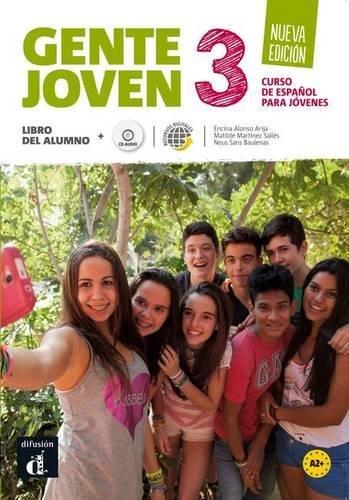 Gente joven 3 : Libro del alumno (1CD audio) par Encina Alonso Arija