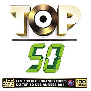 100 Hits du Top 50 (Coffret 5 CD)