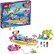 LEGO Friends Party Boat 41433 building set with Andrea, Emma and Ethan mini-dolls, Toy for kids 7+ years (640