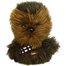 Star Wars Underground Toys Peluche de Chewbacca (22,9 cm, sonido en inglés, caja de regalo)