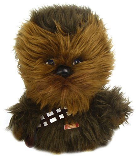 "Star Wars Underground Toys 9"" Talking Chewbacca Plush"