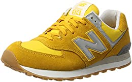 zapatillas new balance color mostaza