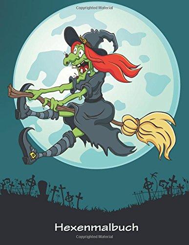 Hexenmalbuch 1 (Halloween-kostüme Uk Hexe)