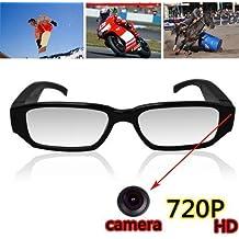 Flylinktech® Video Recorder USB2.0 mini cámara espía Eyewear cámara oculta videocámara DV DVR cámara grabadora de voz de 5MP para WinXP / 2000 / Vista / Windows