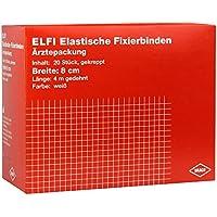 DRACOELFI elast.Fixierbinde 8 cmx4 m gekreppt 20 St Binden preisvergleich bei billige-tabletten.eu