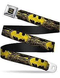 ae2d24487620 Boucle vers le bas pour homme Batman DC Comics Superhero Bat Signal Bats  Ceinture de ceinture