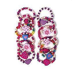 12 pulseras de la princesa...
