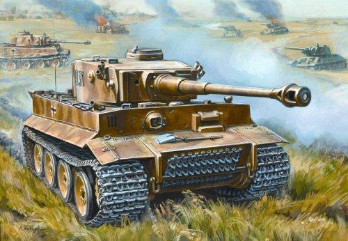 Zvezda 500785002  - Maqueta de tanque de combate alemán Tiger I (2ª