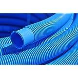 Pool, Schwimmbad, Schlauch, blau 38 mm, Gesamtlänge 300 cm, alle 150 cm teilbar (38mm)