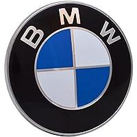 BMW 435435435. Emblemas para capó y maletero, 2 dientes. Emblema de 82 mm 1, 3, 5 y 7 y