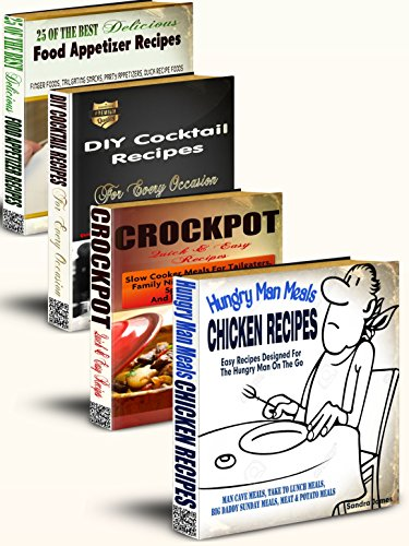 hungry-man-meals-recipes-cookbook-box-set-bonus-crockpot-recipes-diy-cocktail-recipes-food-appetizer